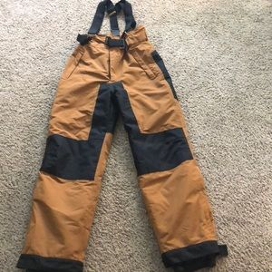 Other - Big Boy's Snow Pants with Suspenders.  NEW!